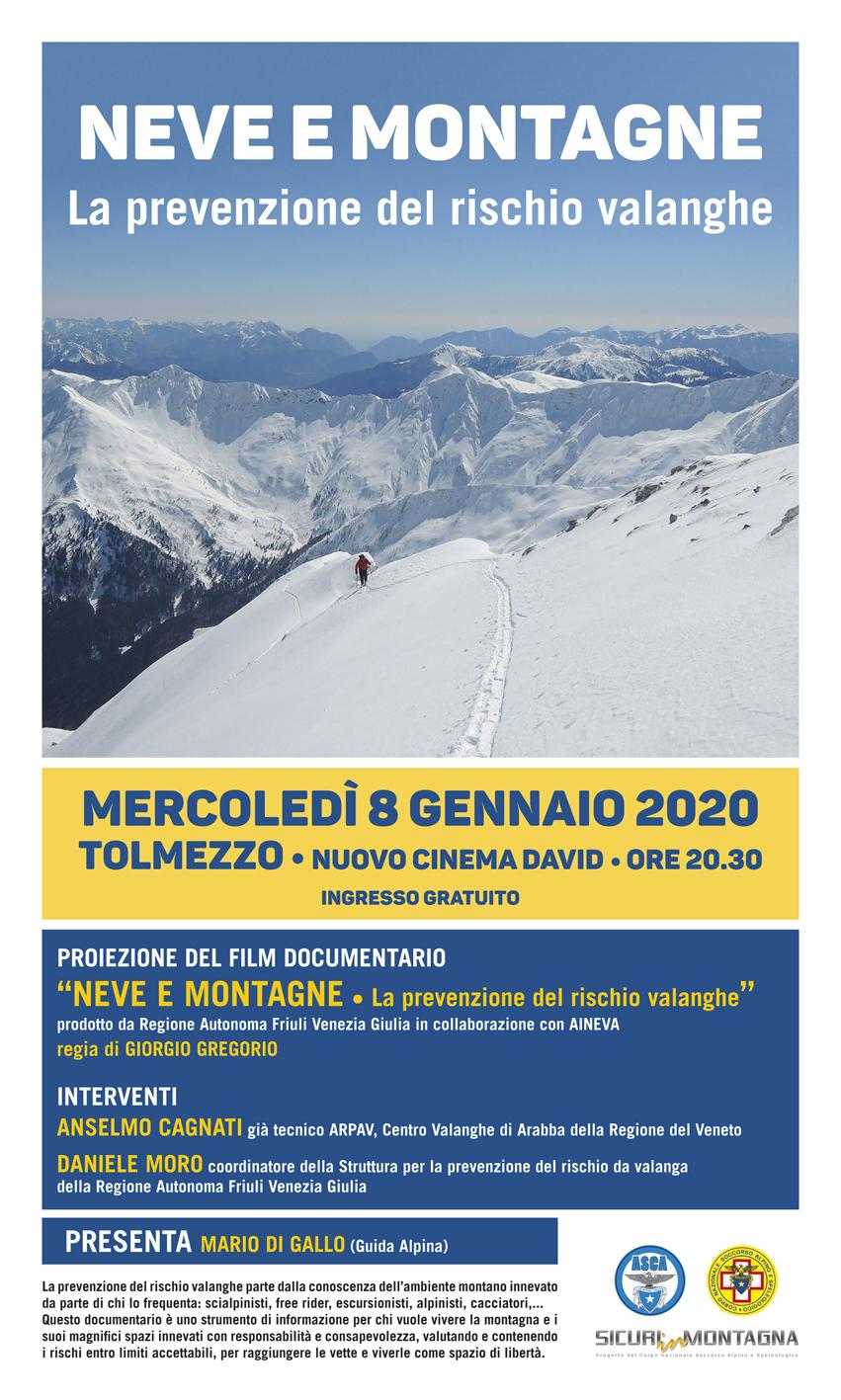 Neve E Montagne Sicuri Sulla Neve 2020 Cai Sezione Di